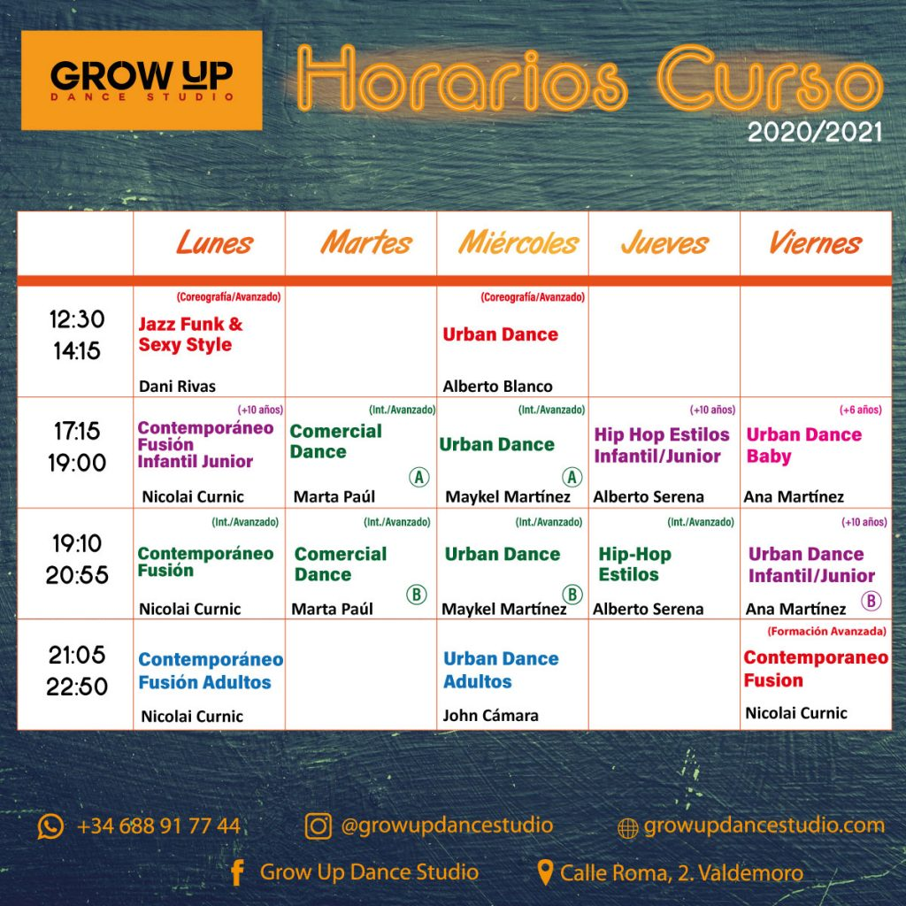 grow-up-horario-curso-20-21